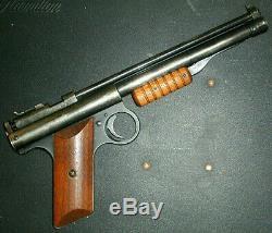 Vintage Benjamin 137 Pistolet À Air Comprimé. 177 Pellets