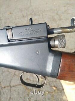 Vintage Crosman Modèle 102 Pellet Air Rifle Gun Pump. 22 Cal Pat. 28 Octobre 1924