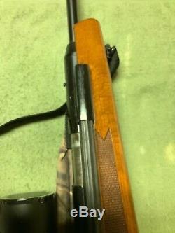 Vintage Rws Diana 52,25 Pistolet À Air Cal Withcenter Champ Point De 4-16x40 W / Boîte Et Écharpe