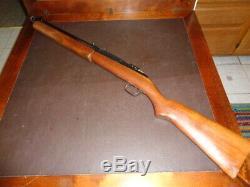 Vintage Sheridan Blue Streak 20 Cal (5 Mm) Carabine À Air Comprimé Pistolet À Granulés