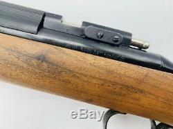 Vtg Benjamin Sheridan De Blue Streak. 20 Calibre Rocker Sécurité Carabine À Air Comprimé Arme À Plomb