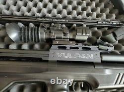 Vulcain V3 25 Cal, 5 Le Magazine 3000-3500 Bar Capacité Max De Carabine À Air Comprimé Pcp