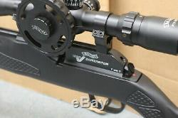 Walther 1250 Dominator Ft Pcp Combo Carabine À Air Comprimé (. 22 Cal) Avec Scope Noir