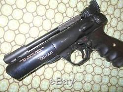 Webley Tempest Pistolet Arme À Plomb. 177 Exc Airgun Beeman Pas De Réserve Wowzer