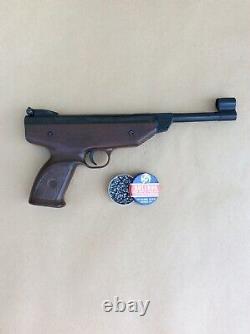 Weihrauch Hw70 Pistolet À Air Comprimé Beeman. 177 / 4.5mm Avec Pellets Bulldog