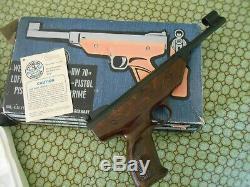 Weihrauch Hw70 Pistolet Arme À Plomb. 177 Exc + In Box Airgun Beeman No Reserve