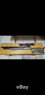 Winchester Modèle 70,35 Grand Trou Pcp Air Riflecustom Boyd Stock De Trou Pour Le Pouce